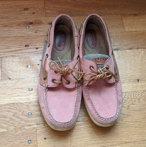 Sperry Pink Topsiders